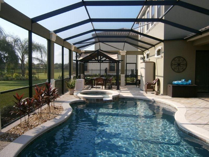 How to prevent debris from getting into your pool se for Pool design naples fl